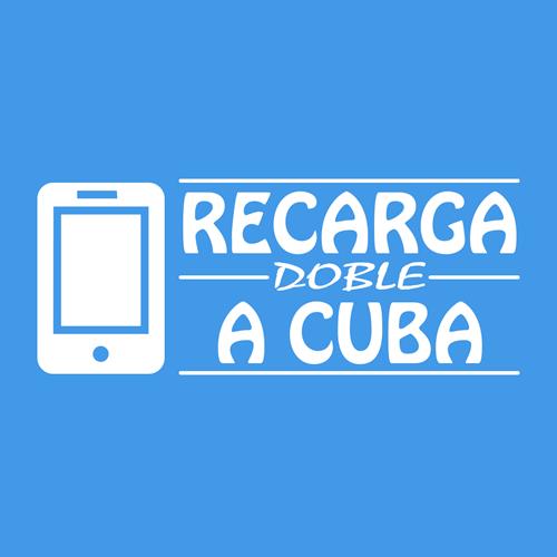 Recargas a Cuba. Recarga doble saldo a celulares de Cubacel (Cuba).